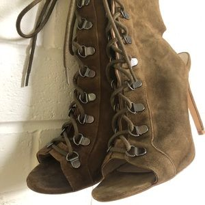 Steve Madden Army Green Booties